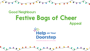 The Good Neighbours Team deliver their Festive Bags of Cheer to Islington residents!